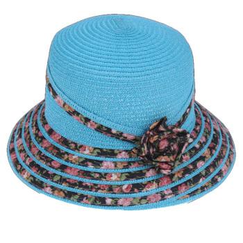花は花のストライプ・ランプキャップサンバイザー帽子夏帽子キャップの韓国語版