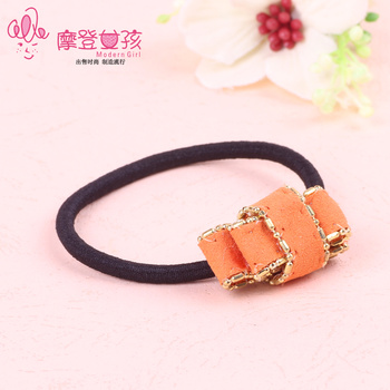 Metal fittings for rubber band crafts headdress Yiwu jewelry Korean hair accessories