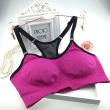 Foreign sources of steel plate I-sports bra-free shock Yoga running vest
