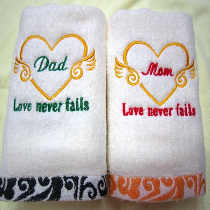 Подарок полотенце и к нему стих 254