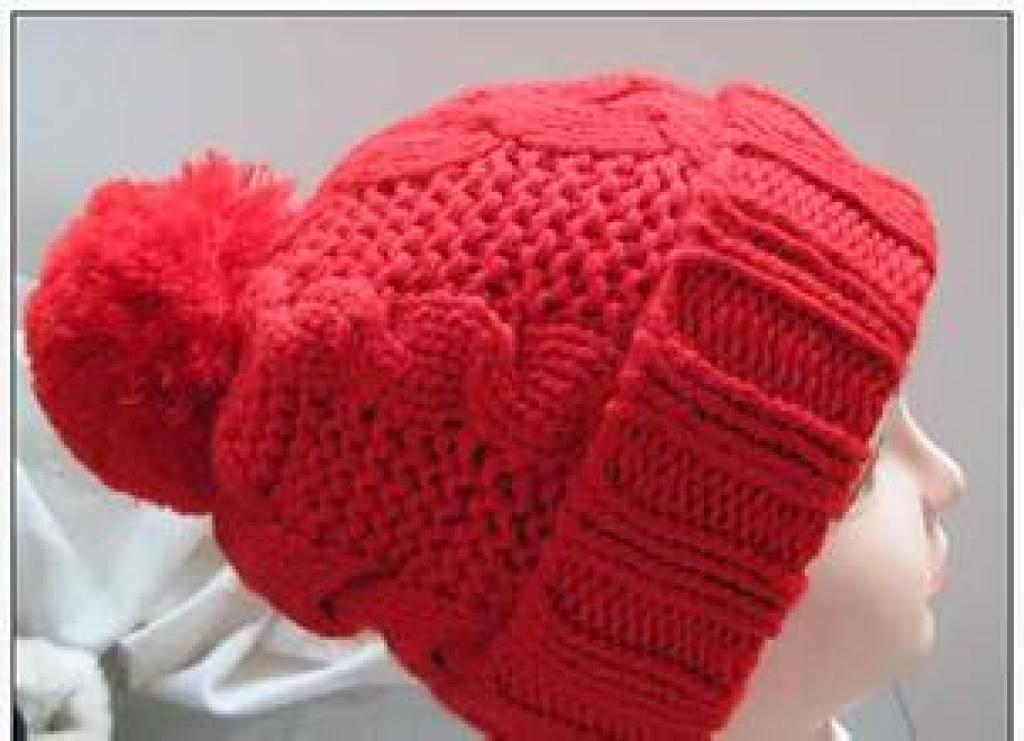 手工毛线帽子的编织方法(图示)