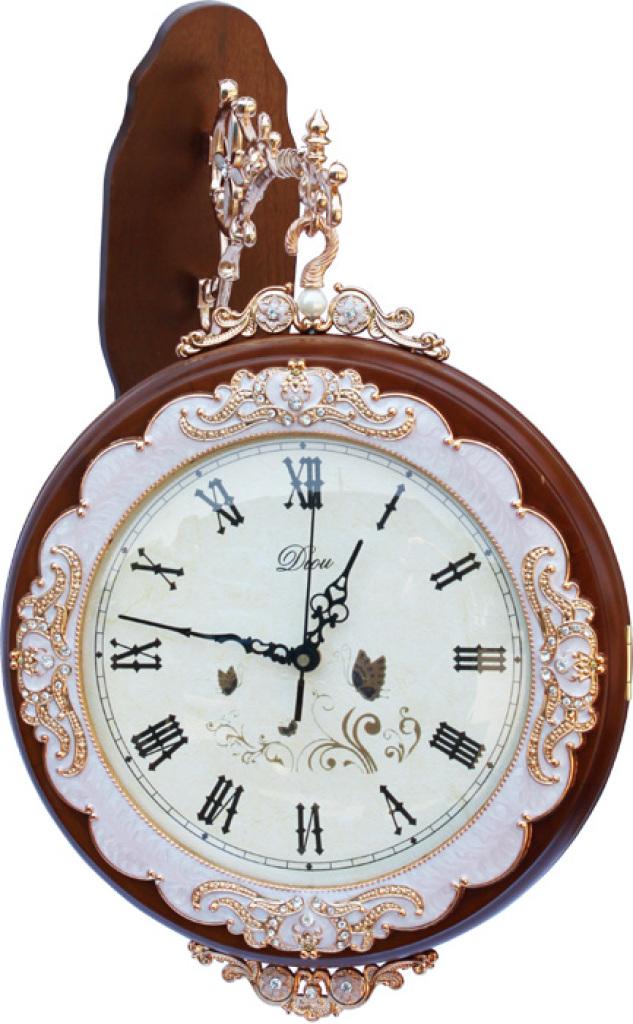 欧式古典风格超静音时钟 墙面装饰壁钟 复古钟表