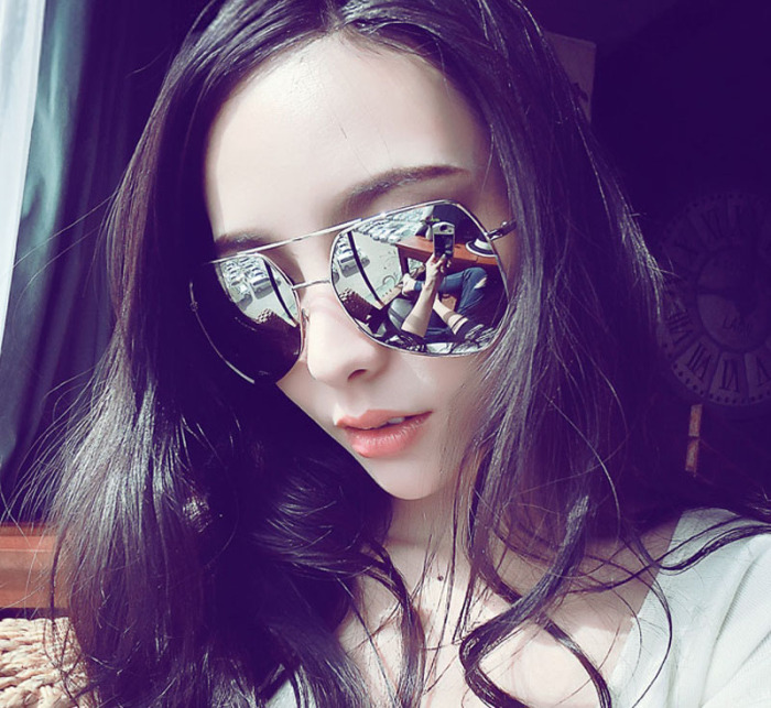latest trend in eyeglasses  ing color film reflective