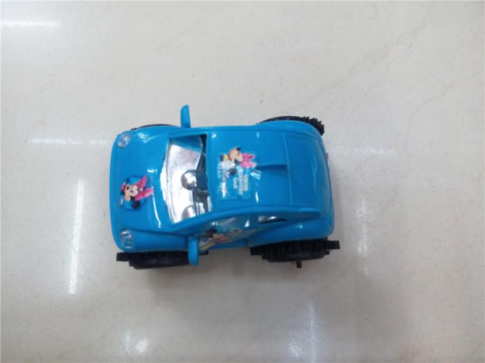 塑料米奇翻斗车玩具 塑料玩具