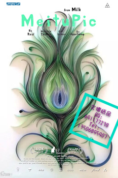 手工衍纸 衍纸装饰画 衍纸立体画 纸艺艺术