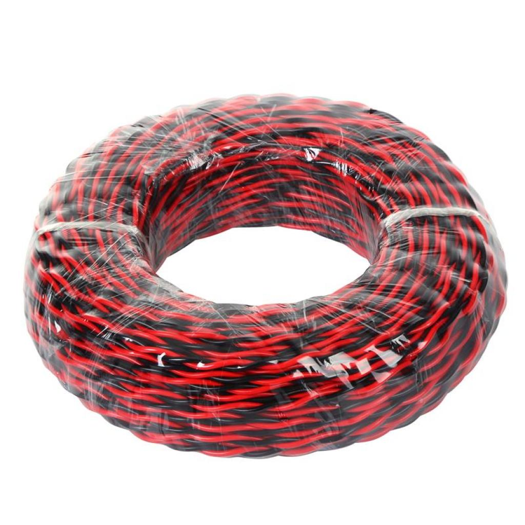 Supply Lamp wires twisted gum lines red line black line-