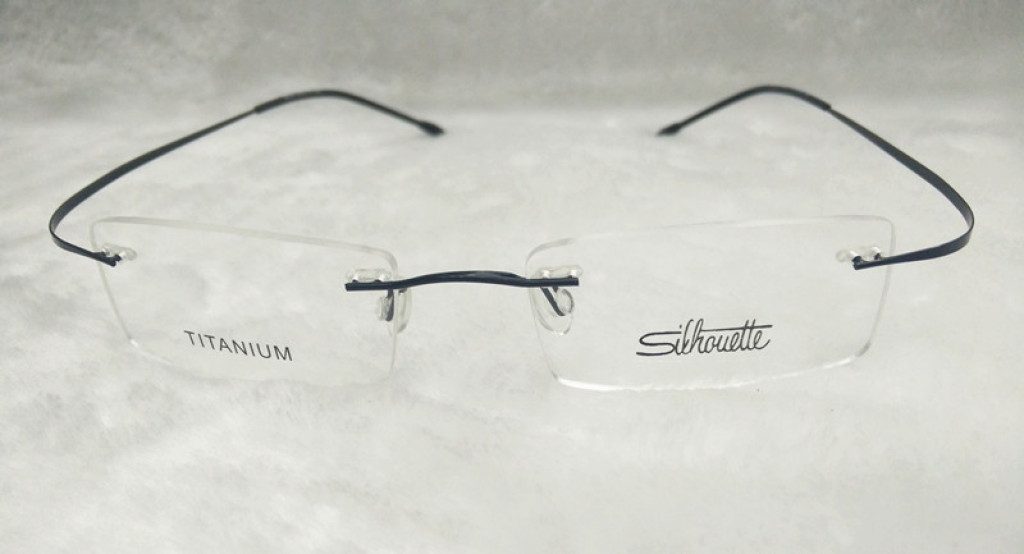 Glasses Frame Code : Supply Men and women ultra-light rimless glasses, super ...