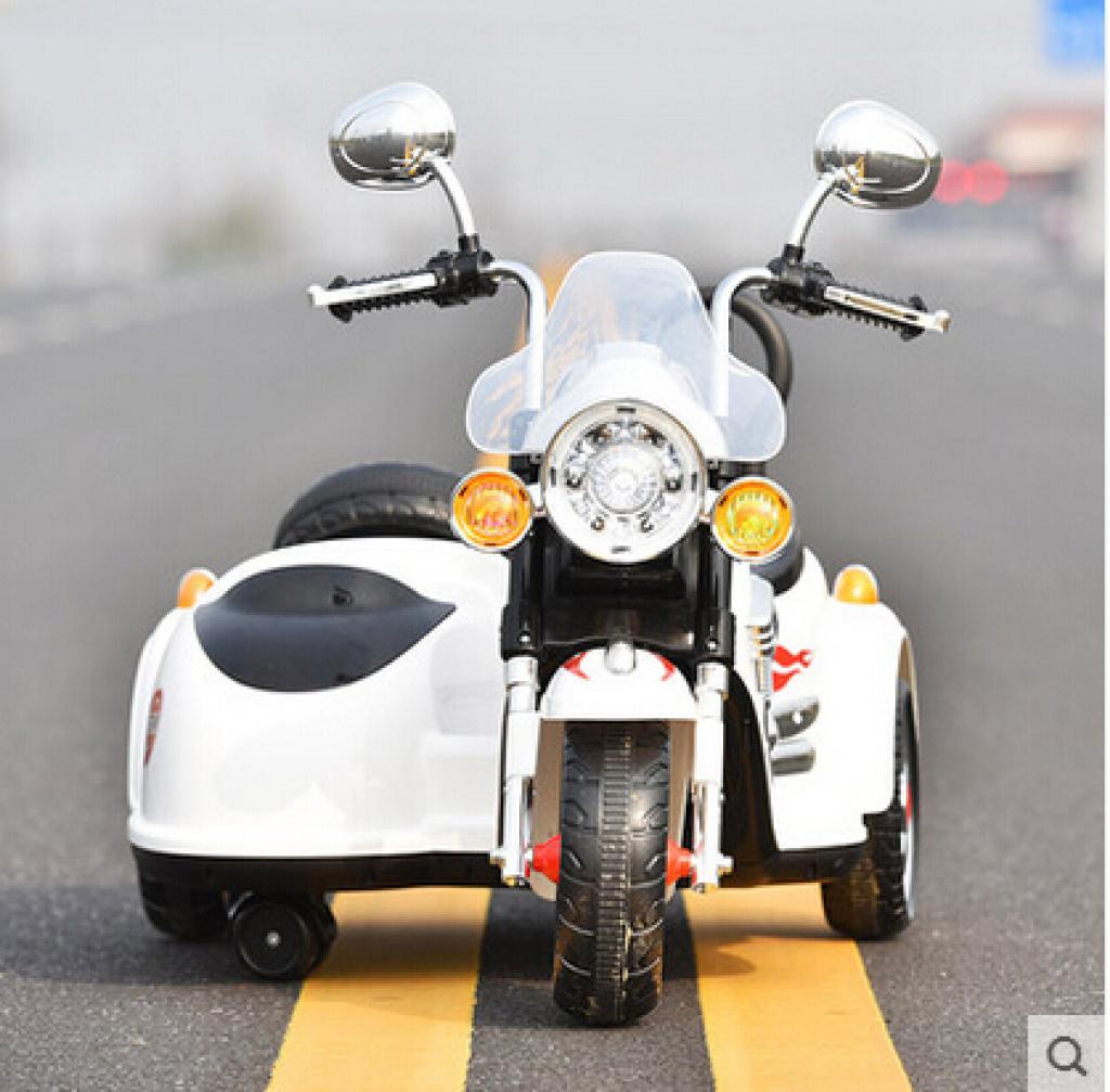 好来喜sx138儿童电动摩托车三轮可坐儿童电动车电瓶车童车