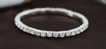 Korean version of the new high claw chain Crystal Stretch Bracelet
