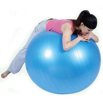 Green thick explosion-proof 75CM fitness ball sting Yoga exercise gym balls quality assurance