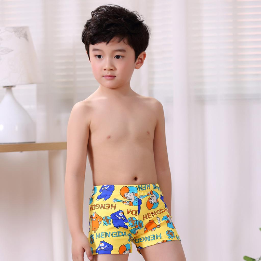 男童游泳衣 男孩大童幼儿宝宝泳裤图片