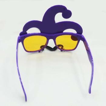 供应新款小丑帽子挂胡子眼镜