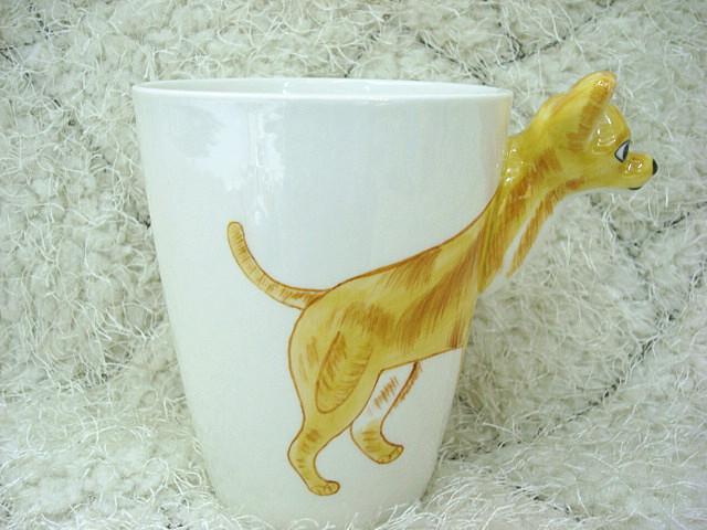 3d动物陶瓷杯 纯手绘创意杯_增美工艺陶瓷_义乌国际城