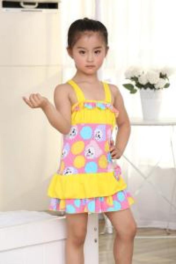 2015儿童泳衣 可爱小孩儿童泳衣
