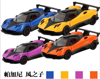 Sound and light pull back alloy car model toy car metal car hot toys hot metal car