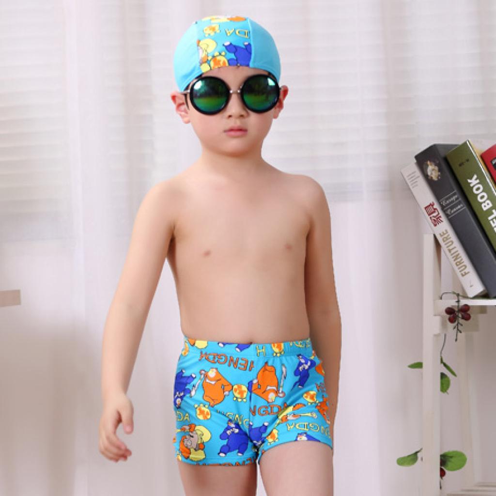 儿童泳衣 男童游泳衣 男孩大童幼儿宝宝泳裤