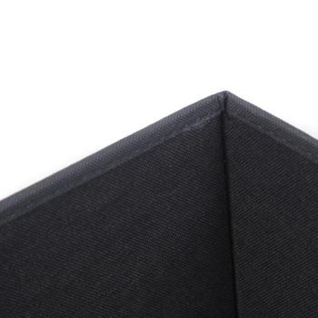 黑白条纹正方形收纳凳