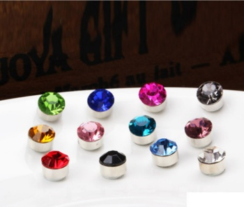 5mm diamond magnet magnet magnetic Stud Earrings non-pierced earrings ear clip