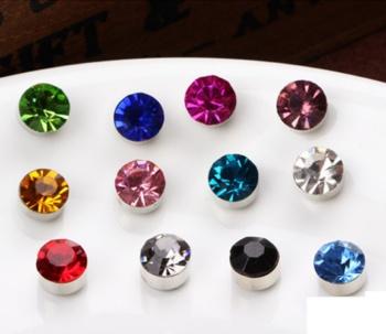 3mm magnet for diamond stud earrings non-pierced earrings magnetic ear clip