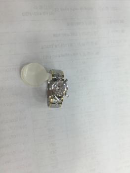 Europe/South America trade original stainless steel/titanium diamond rings