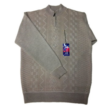 2015 new t multilayer patterned zipper Cardigan