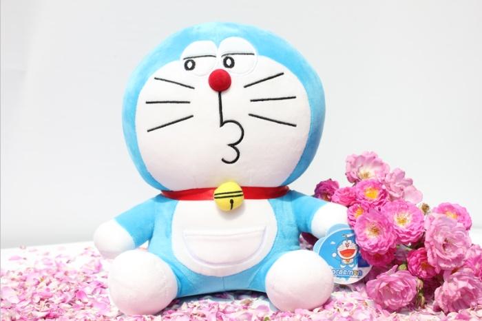 38cm正版多来a梦非常宝贝毛绒玩具批发礼品公仔玩偶