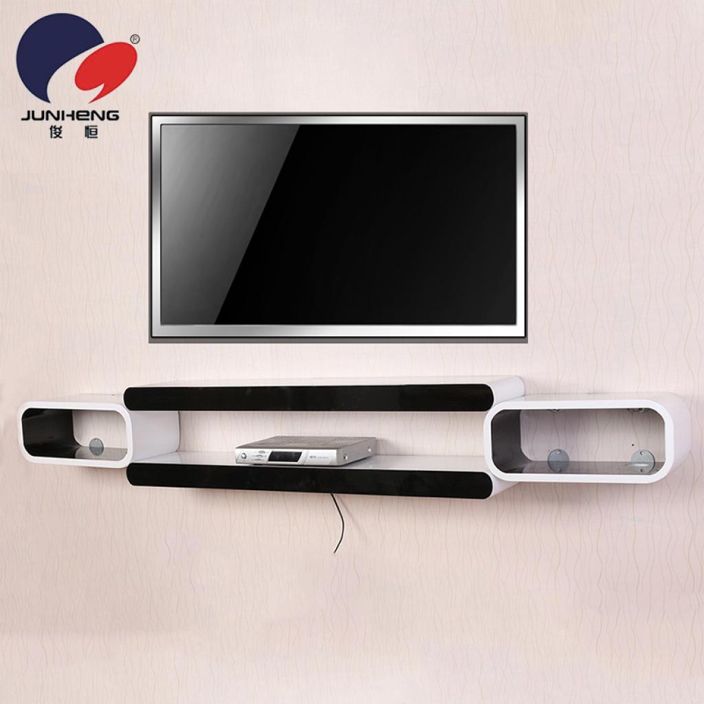 supply rack shelf wall mount set top box rack tv wall rack 100206. Black Bedroom Furniture Sets. Home Design Ideas