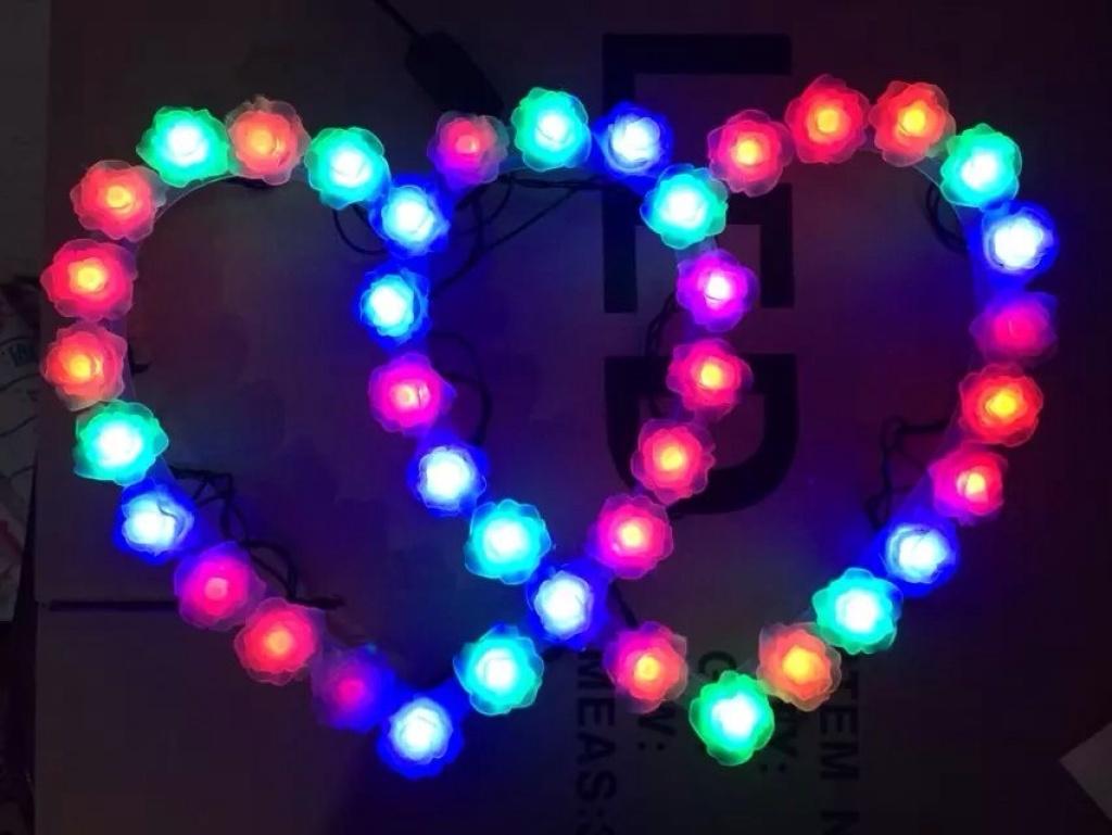 心型led花样灯项目设计制作