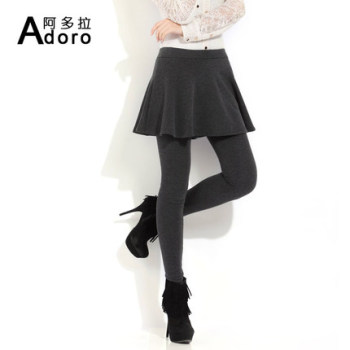Two pieces of extra velvet and padded underwear culottes female autumn and winter section Korean Winter