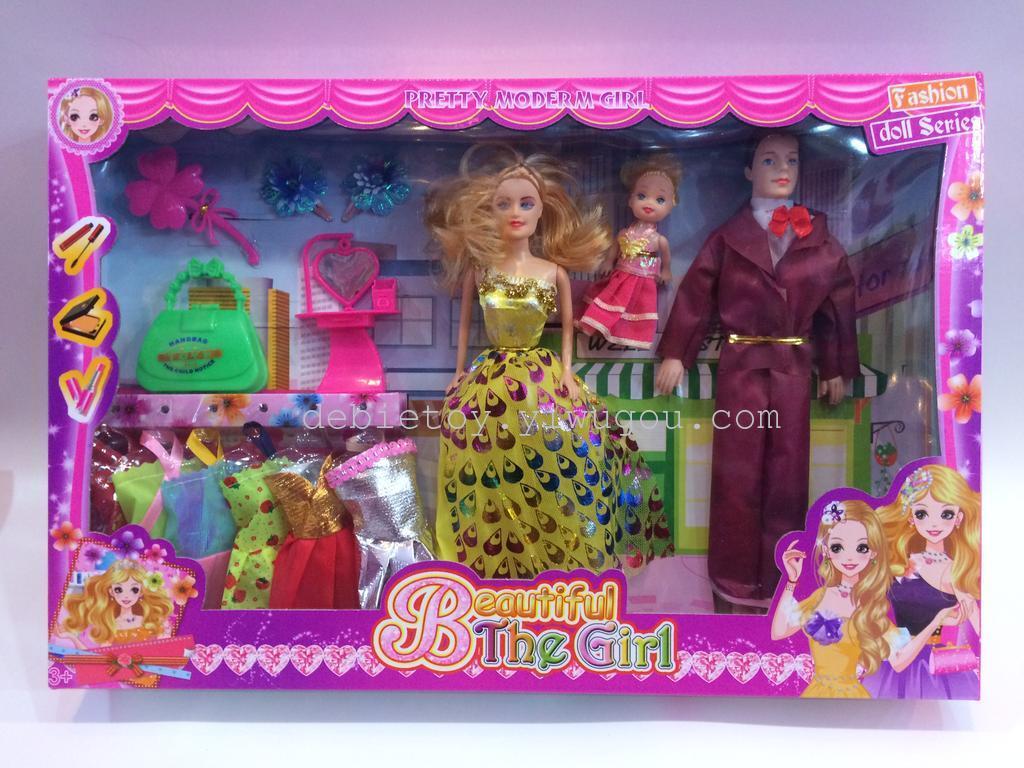 芭比娃娃套装大礼盒