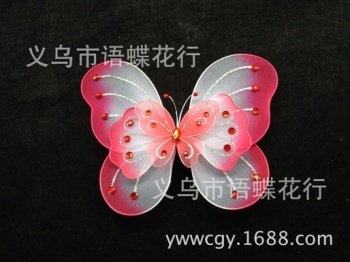 New holiday show prop three-tier butterfly wings COSPLAY toys