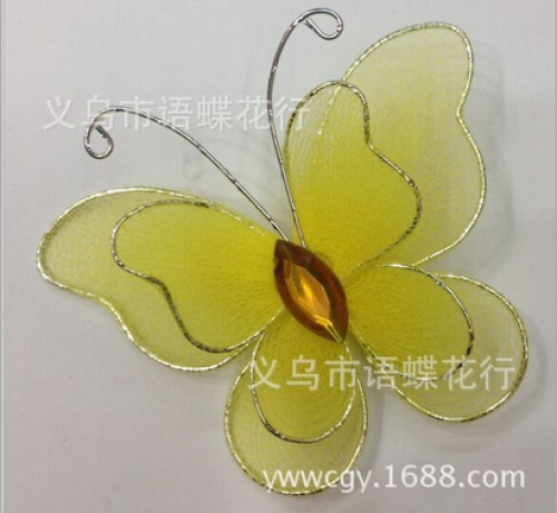 Factory direct IRIS double silk stockings wholesale costume jewelry 5.5CM