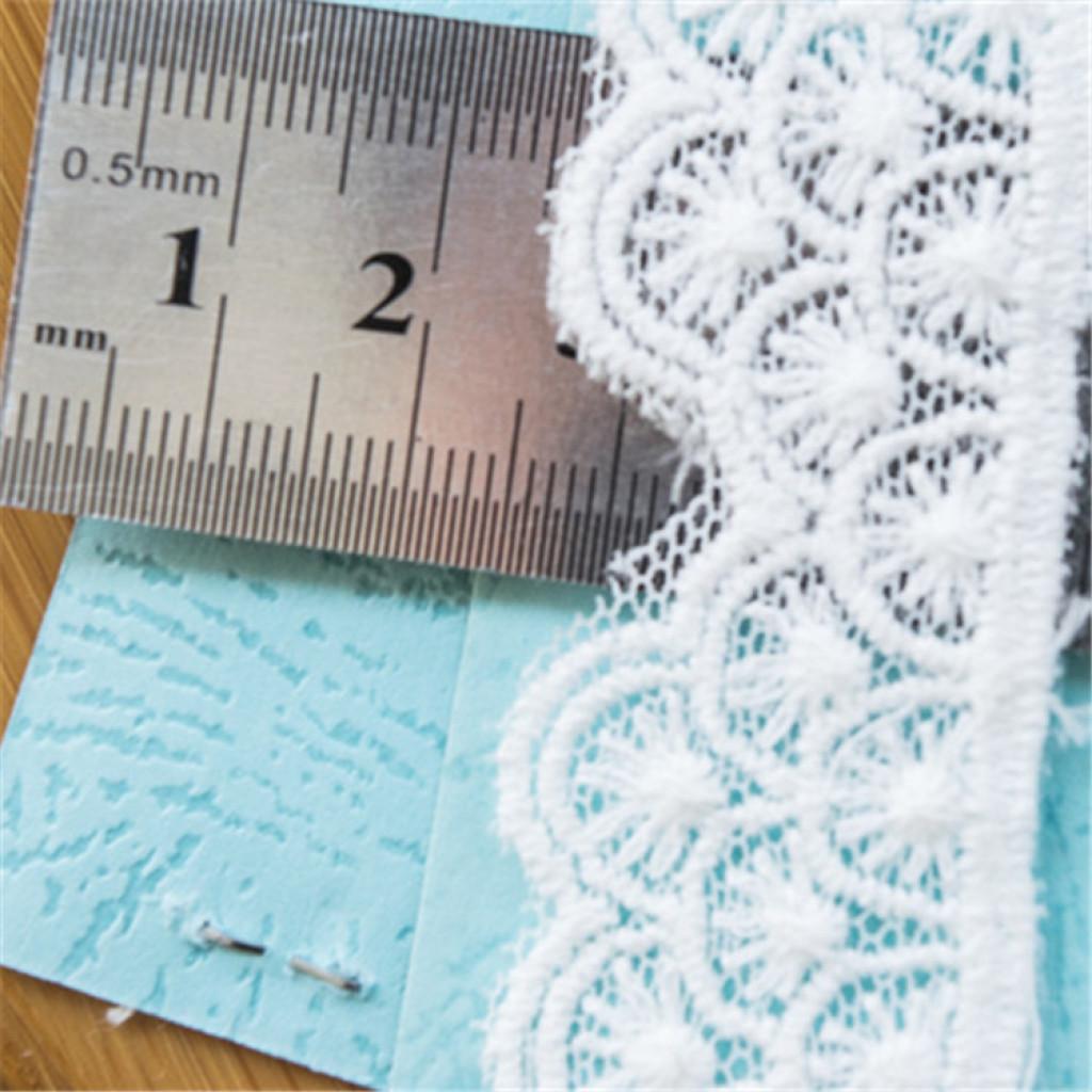 新款蕾丝棉线刺绣花边