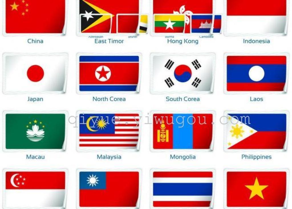 外国国旗_各国的国旗的样子