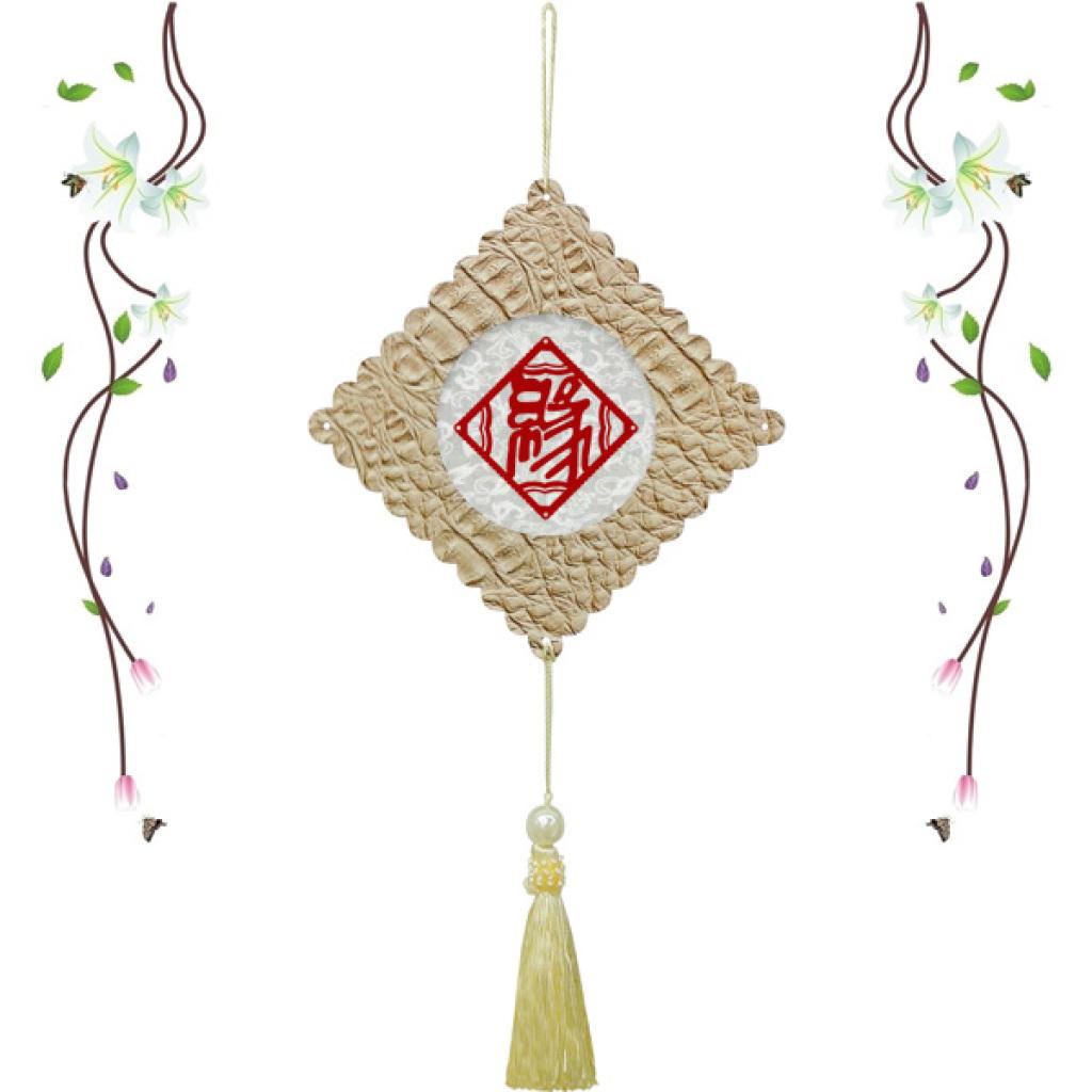 剪纸手工制作中国字挂饰情人节生日礼物女生图片