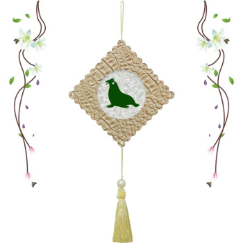 幼儿园装饰吊饰磁性剪纸创意手工制作海洋动物挂饰