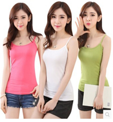 Female cotton sleeveless Camisole top