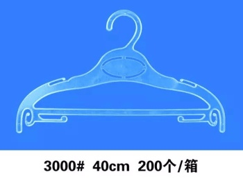 Factory direct sales of plastic transparent new pajamas rack