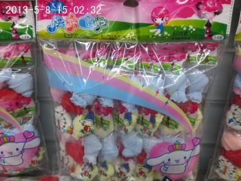 Children's socks in winter baby boys and girls aged 7-9 winter socks thickening tube 3-5