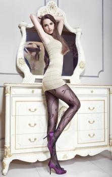 20D core-spun wheat Jacquard silk Jacquard pantyhose pantyhose Lady snag-proof stockings
