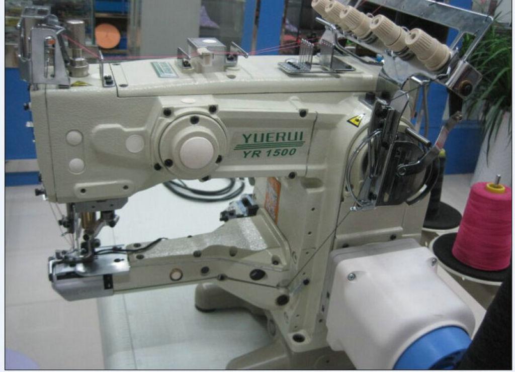 专业供应 vt1500绷缝机自动剪线装置 三针五线绷缝车