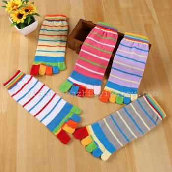 Five finger socks thin colored fingers of fashion socks for men and women socks