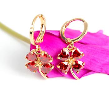 Mixed earrings Korea Stud female Korean fashion earring new hypoallergenic ear jewelry