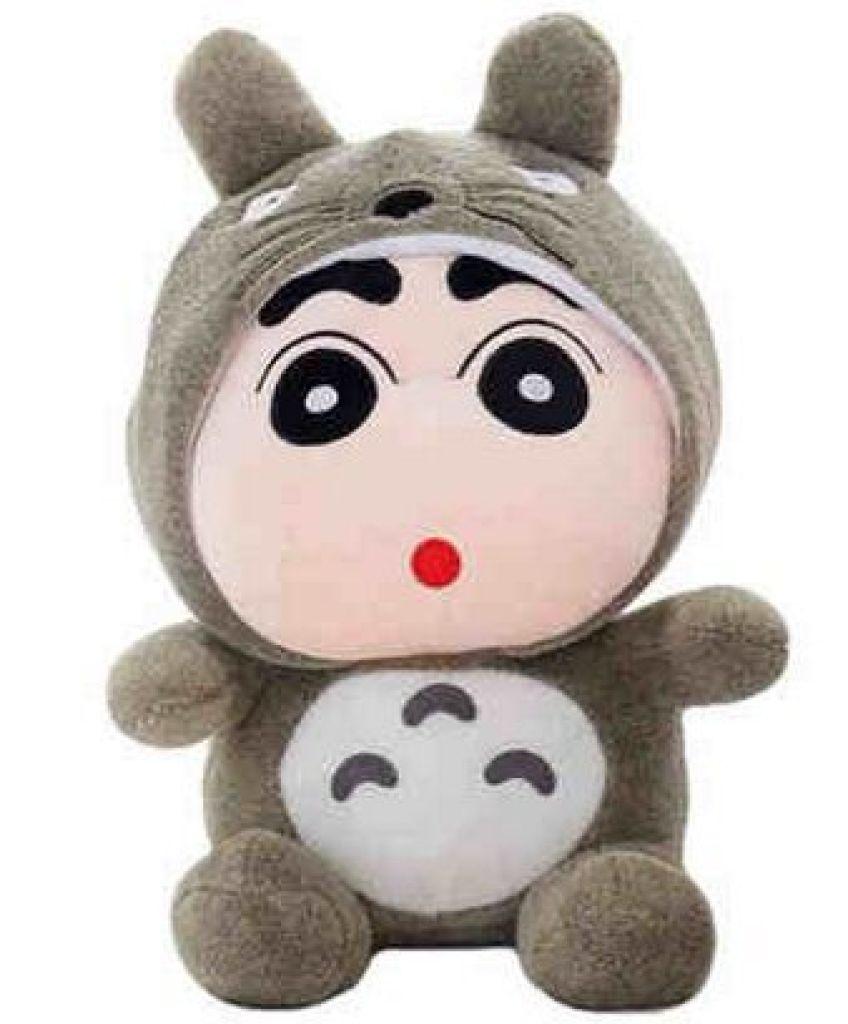 蜡笔小新变身龙猫公仔毛绒玩具布娃娃玩偶