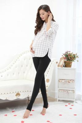 2016 new cashmere leggings in autumn and winter plus pregnant women pregnant women warm pants XL long maternity dress