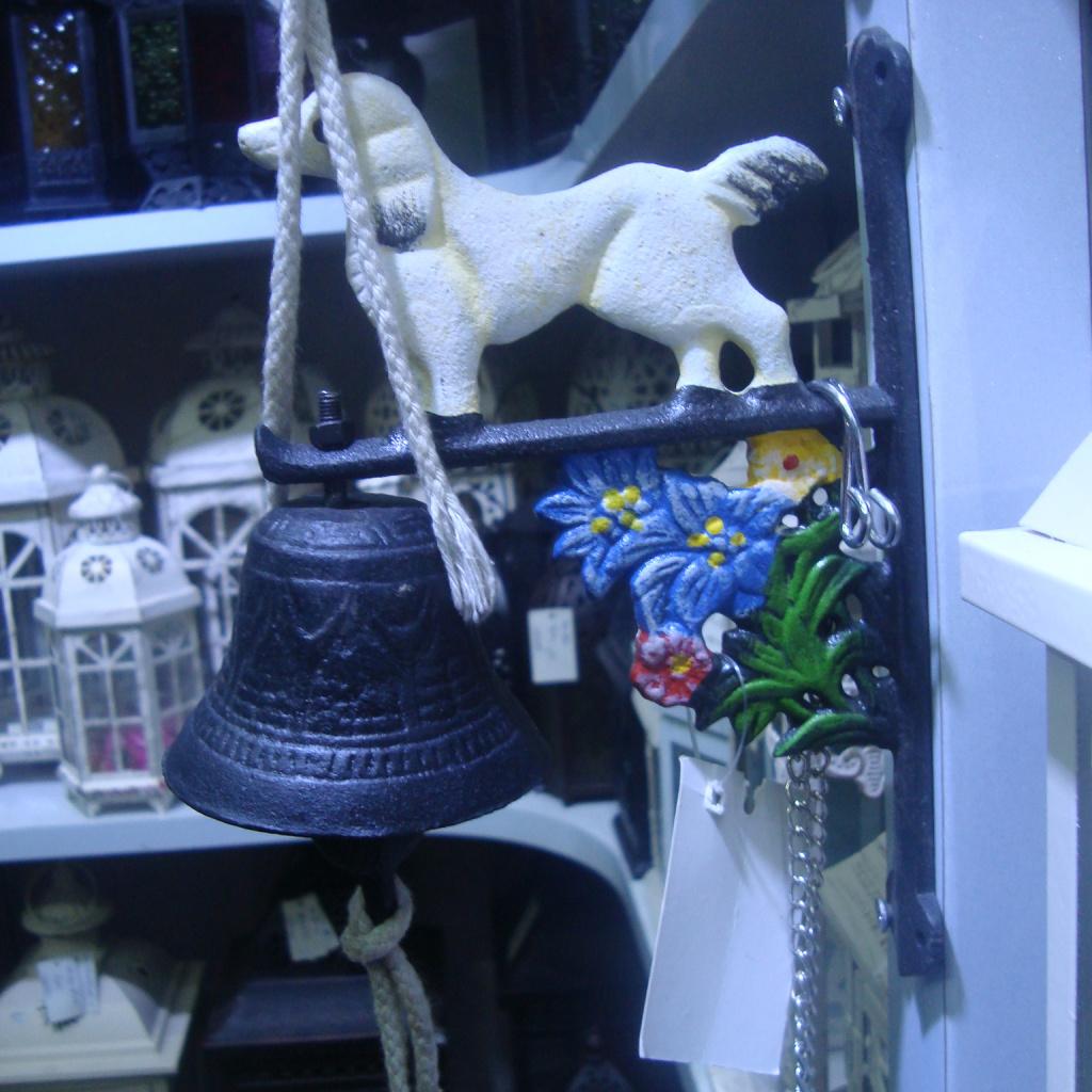 欧美田园风格铸铁门铃 铃铛