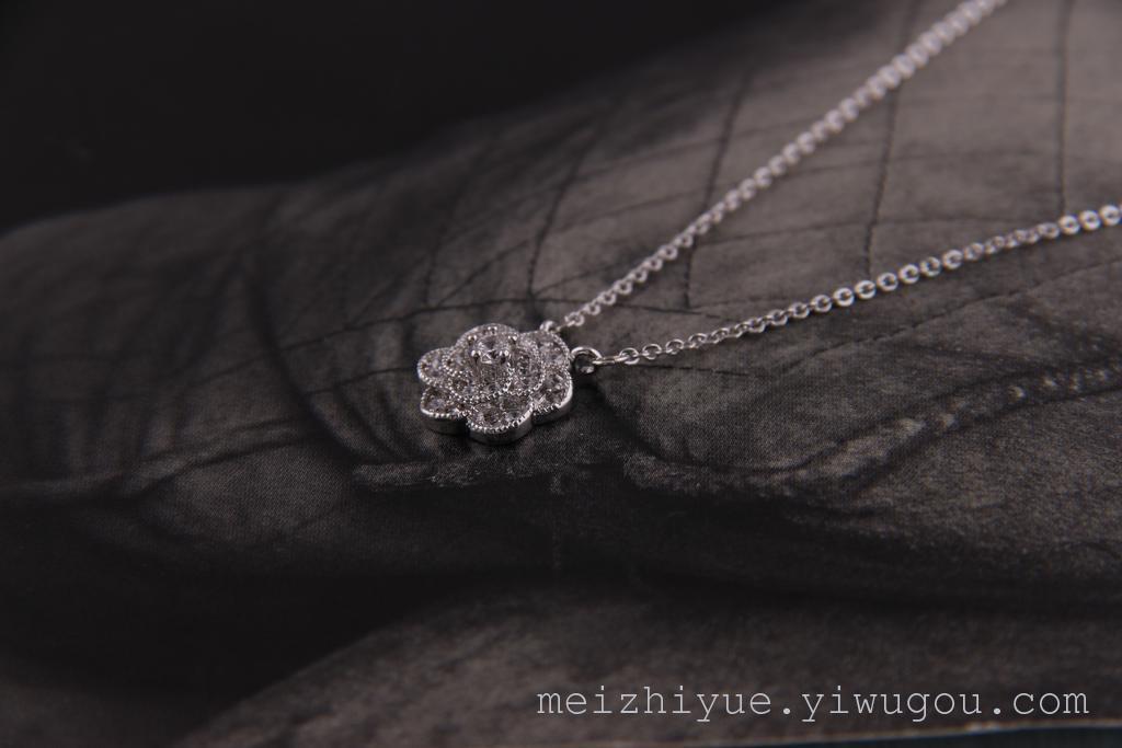 美之悦2015 新款日韩 玫瑰花系列 锁骨链