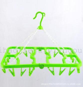 Rectangular plastic pants pantyhose multifunction folding drying racks yh1435