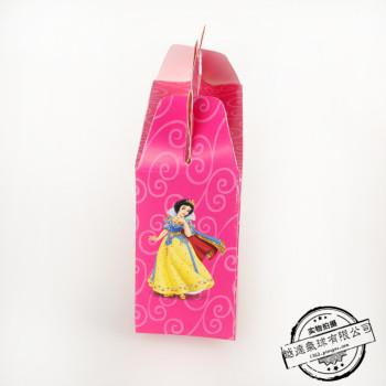 纸盒礼品盒 手提袋卡通创意礼盒需折叠