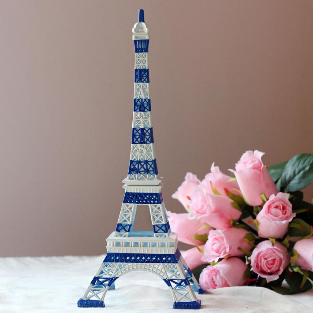 地中海巴黎埃菲尔铁塔模型摆件家居饰品